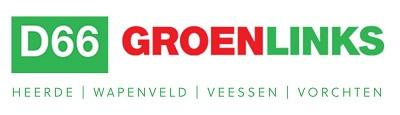 D66/GroenLinks Heerde Logo